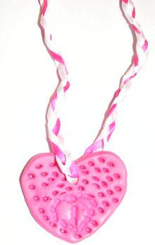 Heart Plaque Necklace