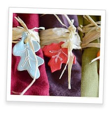 Fall Leaf Napkin Tags