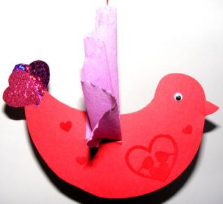 Lovebird Craft
