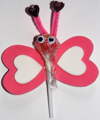 Lovebug Lollipop