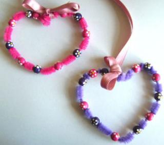 Pipe Cleaner Hearts