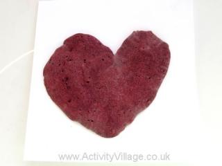Puffy Paint Heart
