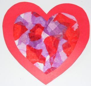 Suncatcher Heart 2