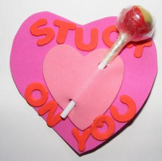 Valentine Lollipop Holder